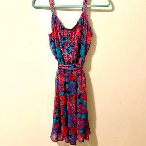 Floral Colorful Summer Dress